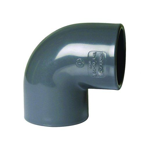 PVC Könyök 90º D 075 PN16
