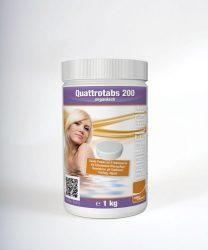 Aquacorrect Quattrotabs Multifunkciós klórtabletta 200g 1kg